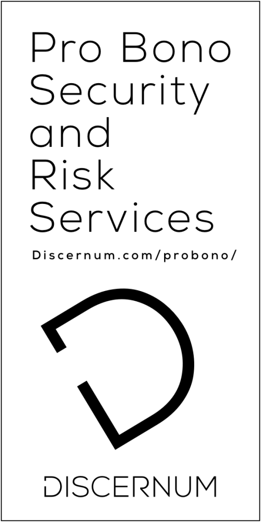 Discernum Pro Bono Security & Risk Services